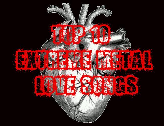 Metal love songs