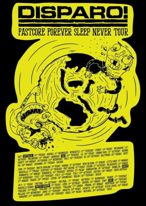 dispario tour flyer
