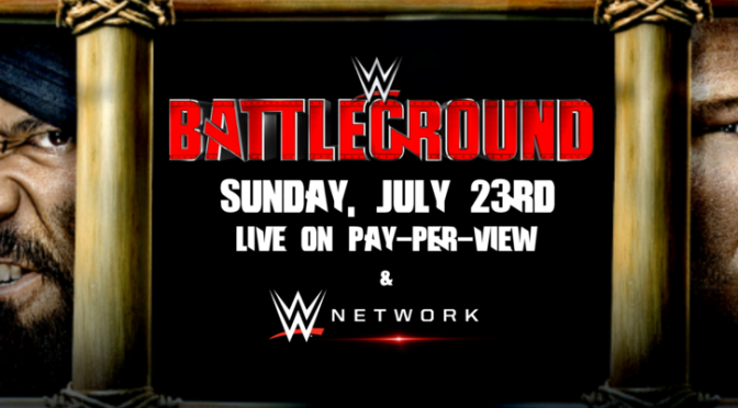 Spaceman Frank's WWE Battleground Predictions