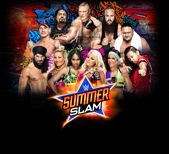 Spaceman Frank's SummerSlam 2017 Predictions