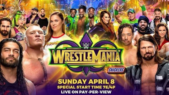 Spaceman Frank's WrestleMania 34 Predictions